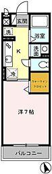 神奈川県川崎市川崎区昭和2丁目の賃貸アパートの間取り