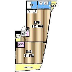 ドルチェ赤堤[4階]の間取り