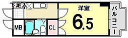 東京都江戸川区東小岩5丁目の賃貸マンションの間取り