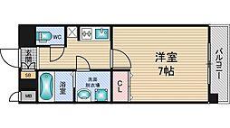 クレアート新大阪パンループ[6階]の間取り