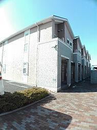 埼玉県北足立郡伊奈町西小針6丁目の賃貸アパートの外観