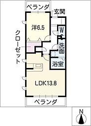 鎌倉台コンフォート[3階]の間取り