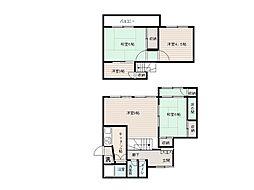 [一戸建] 香川県高松市高松町 の賃貸【/】の間取り