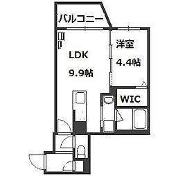 HGS South11[5階]の間取り