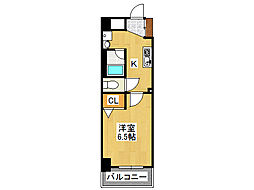 willDo難波wII[3階]の間取り