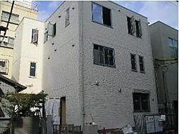 東京都新宿区早稲田鶴巻町の賃貸アパートの外観