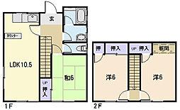 [一戸建] 三重県松阪市久保町 の賃貸【三重県 / 松阪市】の間取り
