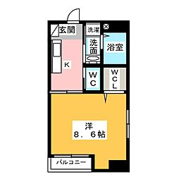 maison spade[7階]の間取り