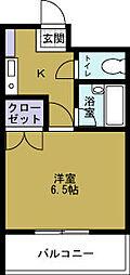 伝法ステーションハイツ[5階]の間取り