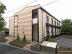 千葉県松戸市小金原8丁目の賃貸アパートの外観