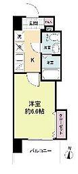 ラグゼ桜ノ宮[10階]の間取り
