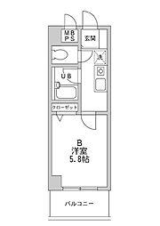 神奈川県横浜市泉区新橋町の賃貸マンションの間取り