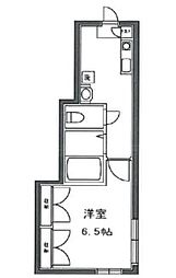 東京都新宿区四谷坂町の賃貸アパートの間取り