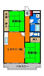 作草部駅 6.4万円