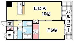 インボイス新神戸レジデンス[6階]の間取り