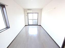 洋室9.7帖 エアコン完備 南面バルコニー