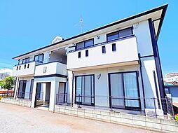 埼玉県入間市大字下藤沢の賃貸アパートの外観