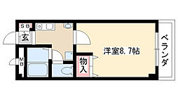 愛知県名古屋市緑区東神の倉2の賃貸マンションの間取り