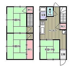 [一戸建] 愛媛県新居浜市港町 の賃貸【愛媛県/新居浜市】の間取り