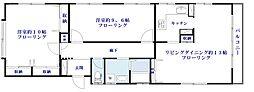[タウンハウス] 東京都目黒区碑文谷3丁目 の賃貸【/】の間取り