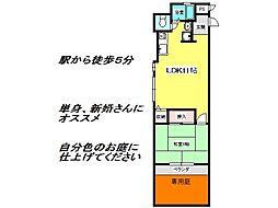 兵庫県神戸市垂水区西舞子1丁目の賃貸マンションの間取り