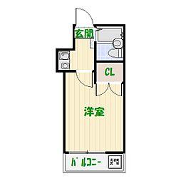 レジデンスレオ[2階]の間取り