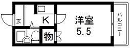 アベニュー藤[301号室号室]の間取り