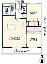 LUPINUS[1階]の間取り