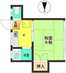 みのりハウス[2階]の間取り