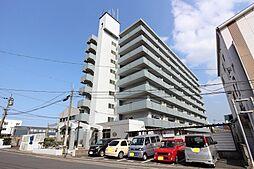 福岡県北九州市小倉北区日明1丁目の賃貸マンションの外観