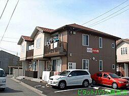徳島県徳島市北田宮3の賃貸アパートの外観