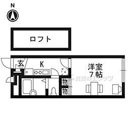 【敷金礼金0円!】山陰本線 二条駅 徒歩16分