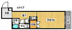 ジュネスタムラ[3階]の間取り