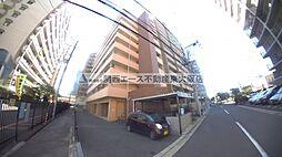 大阪府東大阪市西岩田3丁目の賃貸マンションの外観