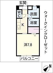 NEU HAUS II[2階]の間取り