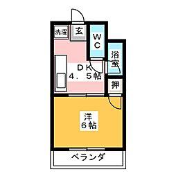 メゾン・ハヤシ[3階]の間取り