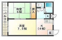 セイコウマンション[1階]の間取り