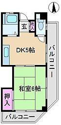 田沢ビル[1階]の間取り