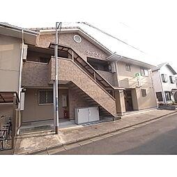 静岡県静岡市葵区安東の賃貸アパートの外観