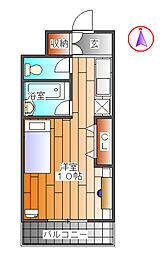 SANDA VILLA27[2階]の間取り