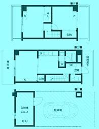[テラスハウス] 神奈川県川崎市宮前区宮崎 の賃貸【/】の間取り