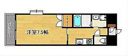 リファレンス小倉駅前[802号室]の間取り
