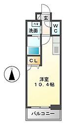 エルスタンザ東別院[3階]の間取り