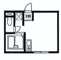リアルフィールド阪東橋[202号室]の間取り