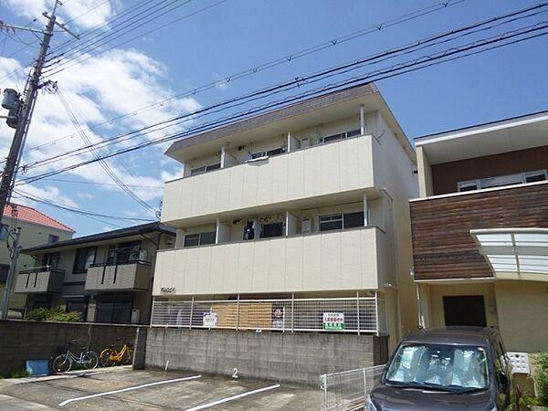 兵庫県西宮市大屋町の賃貸アパートの外観