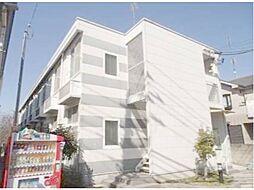 東京都立川市一番町4丁目の賃貸アパートの外観