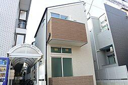 大物新築アパート[1階]の外観