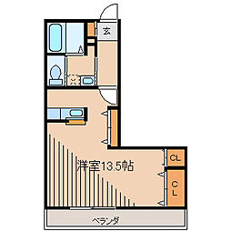 K'sマンション[2階]の間取り