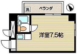 司ハイムII[3階]の間取り