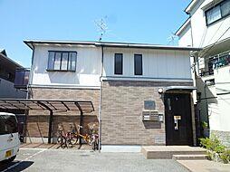 大阪府摂津市桜町1丁目の賃貸アパートの外観